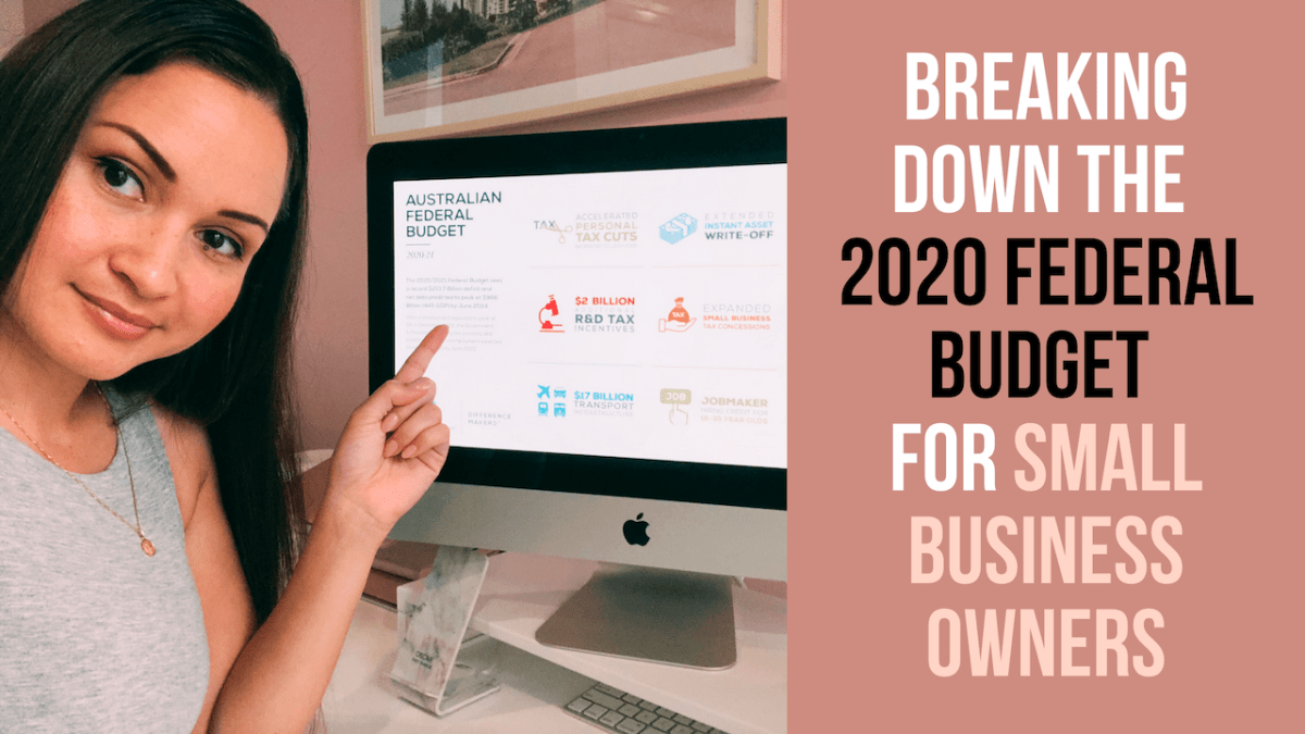 Breaking down the 2020 federal budget for small business owners